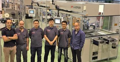 Cy-Time will distribute Lazpiur's pin insertion and electronics machines in China