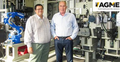 AGME celebra su 70 aniversario sirviendo soluciones de ensamblaje automático
