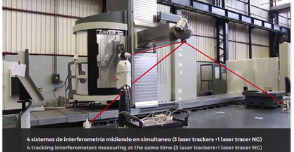 ZAYER develops a new verification technique for volumetric precision of machine tool