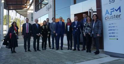 El sector de Máquina-herramienta recibe la visita de la Secretaria de Estado de Comercio