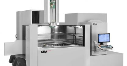 ONA reaches 98% of overall equipment efficiency and is exhibiting at the EMO 2017 as a technological leader in EDM (Hall 13, stand C86)