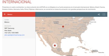 SMT Samsung is now Lazpiur's sole distributor in Mexico & U.S.A.