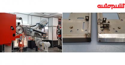 AUTOPULIT expondrá una célula robotizada para el lijado de cordones de soldadura en piezas de chapa en EMO 2019