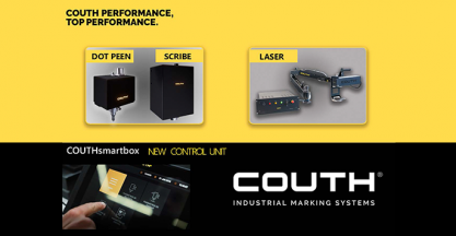 The new generation of COUTH marking machines