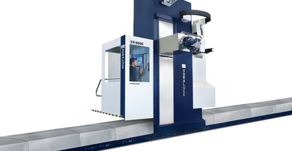 #BIEMH2014 - SORALUCE FP-12000 FLOOR TYPE MILLING-BORING CENTRE OFFERS HIGH VERSATILITY AND PRODUCTIVITY FOR MEDIUM AND LARGE SIZE COMPONENTS MACHINING