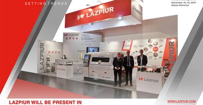 Lazpiur exhibe su tecnología en la fabricación de utillaje para forja en la feria de Hannover, la mayor del mundo