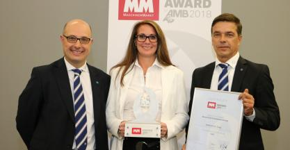 "SORALUCE takes the ""MM zur AMB 2018"" award"