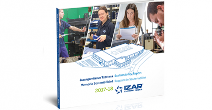 IZAR presents its Sustainability Report for 2017-2018
