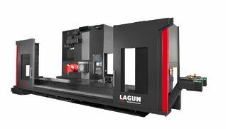 LAGUN CM / CL - Fresadora universal de columna móvil con mesa fija