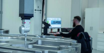 Large three-dimensional measuring machine, already operational at TDG