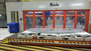 BIELE Vacuum stacker for press lines