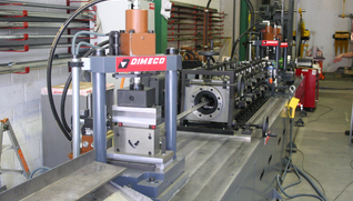 DIMECO MANUFACTURING LINE FOR DIFFERENT COLD ROLLED PROFILES FOR ASSEMBLY OF SOLAR PANELS STRUCTURES DIMECO