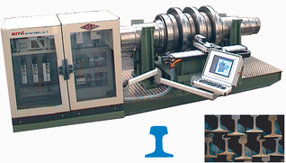 HERLUCE ENGRAVING SYSTEM OF ROLLERS FOR ROLLED RAILS