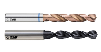 New sinterized metalurgic powder steel IZAR twist drills at EMO 2015 - Hall 6, stand N02