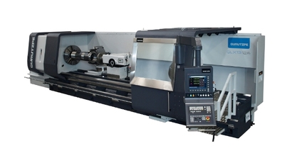#BIEMH2014 - CNC LATHE GURUTZPE GX 13.12.8, 8 M. BETWEEN POINTS
