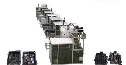 Lazpiur entrega a Yazaki México una línea para montaje de fusibles y relés para automóviles de General Motors