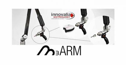 INNOVALIA METROLOGY crea un nuevo brazo portátil