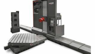 """LAGUN MLX Q - Fresadora """"floor type"""" con cambio automático de cabezales y mandrinado"""