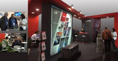 Lazpiur presented at Wire Fair the latest developments in its inspection machines and precision forging tools