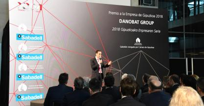 DANOBATGROUP RECEIVES THE ·GIPUZKOA COMPANY· OF 2018 PRIZE AWARD