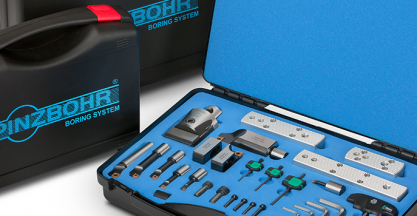 PINZBOHR presenta los nuevos kits de mandrinado Bohrstar 54 en EMO 2019
