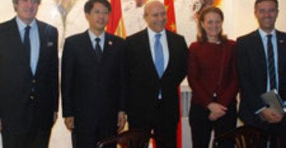 El Ministro de Educación, Cultura y Deporte apoya la colaboración hispano-china en la formación en tecnologías avanzadas de fabricación