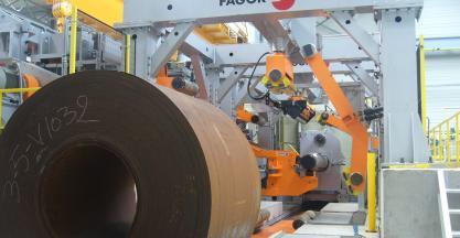 SSAB encarga a FAGOR ARRASATE una aplanadora de alto límite elástico para el procesado de materiales