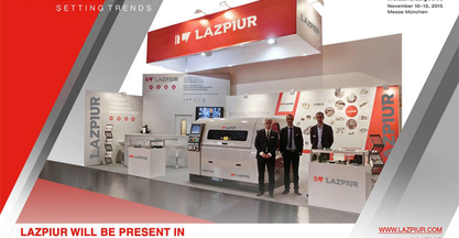 Lazpiur to meet with leading electronic product specialists in Munich