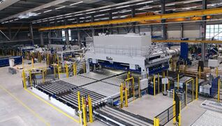 BIELE Stacking system for shear lines