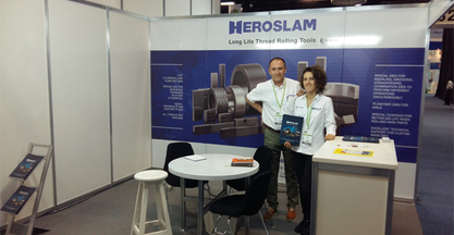 HEROSLAM makes positive balance of FASTENER FAIR MEXICO 2016