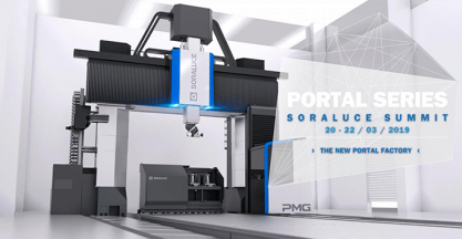 SORALUCE to unveil the new range of portal machines during the SORALUCE SUMMIT 2019 | PORTAL SERIES