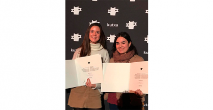 IBARMIA was doubly represented in the Kutxa End of Studies Award