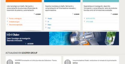 Goizper Group estrena nueva página web