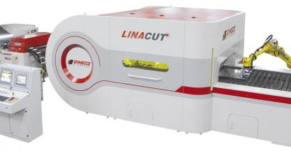"Dimeco presents at the BIEMH its newly developed ""Linacut®"" for laser cutting from coil - Hall 5, stand E11"