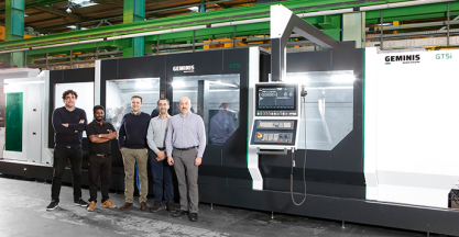 GEMINIS LATHES signs a new supply contract with Saudi Aramco