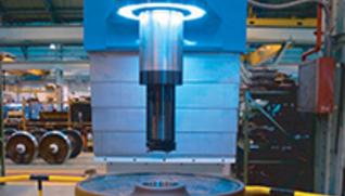 BOST VERTICAL BORING MACHINE BOSTRAIL MVR