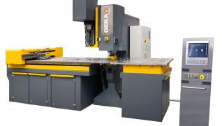 GEKA Paxy 1000, 1500 and 2000, CNC line for steel plates