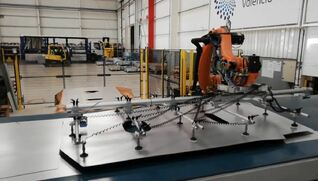 BIELE Stacking system for laser blanking lines