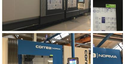 The Correa brand at the forefront in the environmental communication of its machines