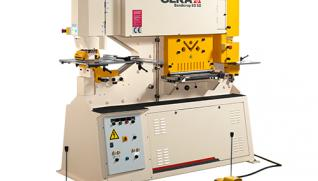 GEKA Bendicrop, machines with bending station and avoid distortion system when cutting places