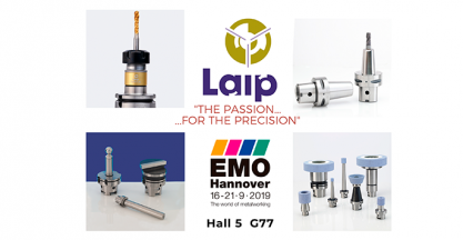 LAIP presents at EMO its lastest innovations in toolholders