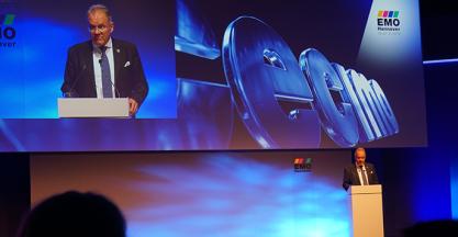El Ministro alemán de Transportes e Infraestructura Digital visita JUARISTI en la inauguración de EMO Hannover 2019