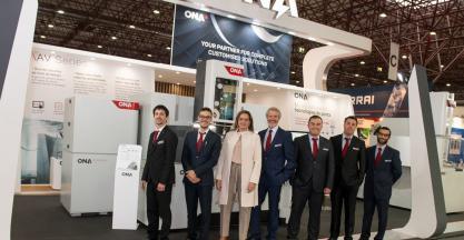 ONA Electroerosión exhibió en EMAF 2018 todo su potencial tecnológico en la Industria 4.0.