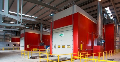 #BIEMH2014 - PAINT BOOTHS GEINSA FOR TALGO RAIL UNITS