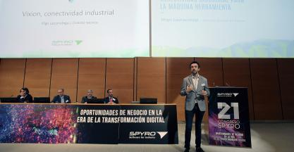 VIXION-SPYRO draws over 200 professionals to San Sebastian to learn about the digital transformation of organisations