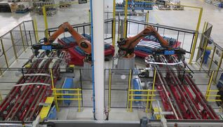 BIELE Robot stackers for sheet metal working lines
