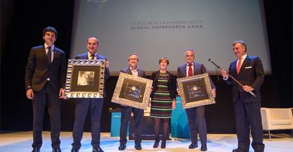 Ibarmia premio Innovación Empresarial 2015 por la Fundación Empresa Vasca y Sociedad