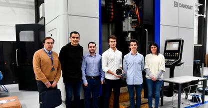 DANOBATGROUP premia la investigación en fabricación industrial en la comunidad universitaria