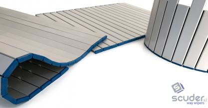 SCUDER develops new skids / sliding covers