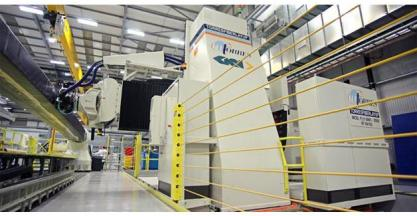 The fifth AFP MTorres machine for A350 XWB Wing Spars manufacturing starts production in GKN Aerospace